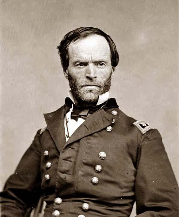 an analysis of the actions of major general william tecumseh sherman in november 1864