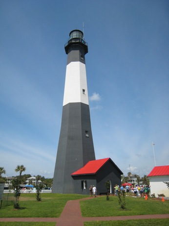 Tybee Lighthouse, as seen in Charleston vs. Savannah -- Which City to Visit?