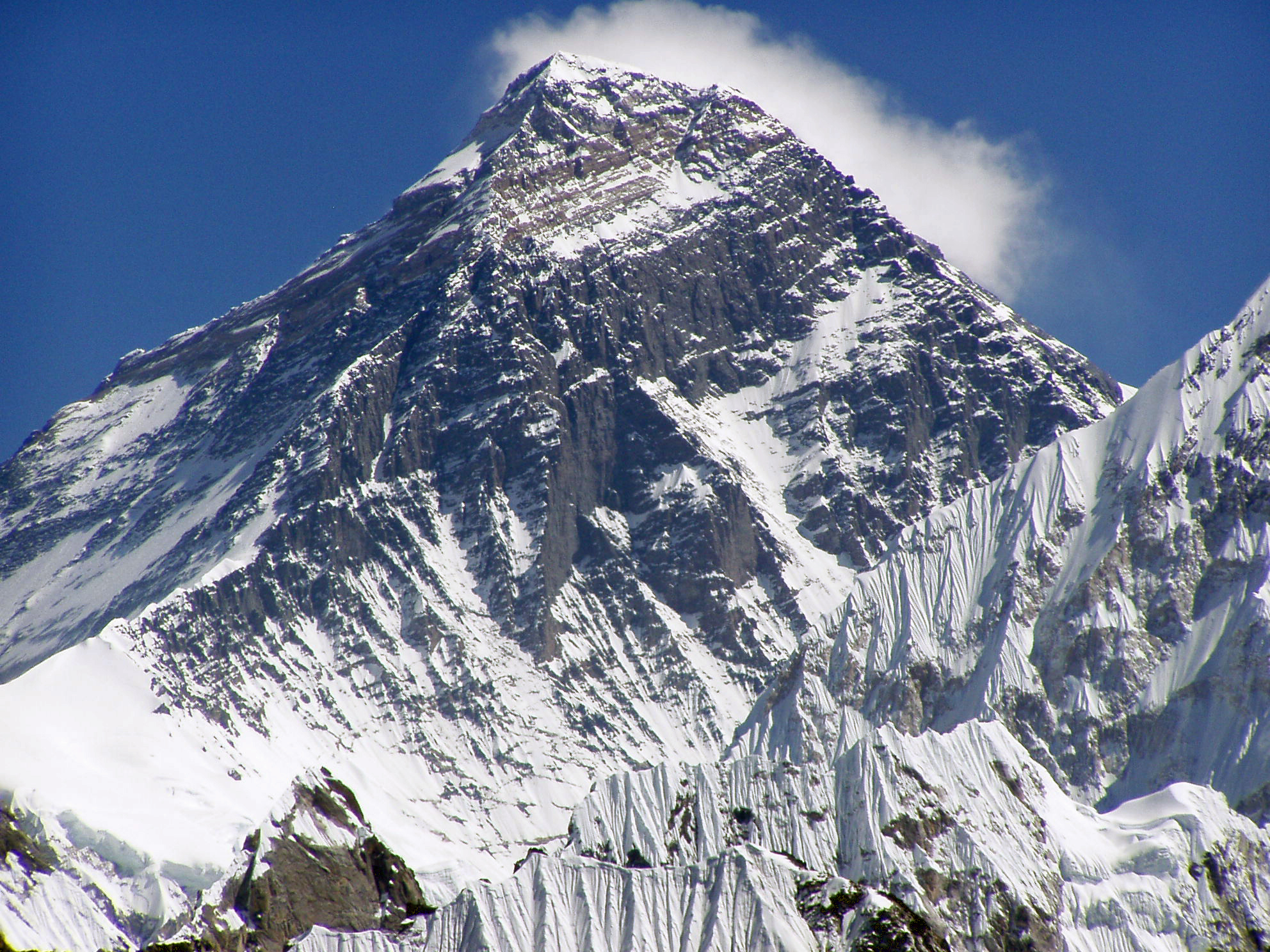 Everest closeup Into Thin Air?